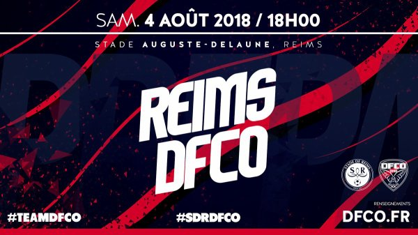 2018 AMICAL REIMS DIJON 2-1, le 04/08/2018