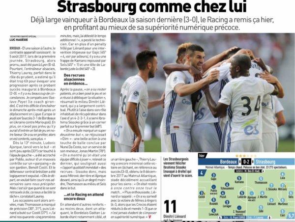 2018 Ligue 1 J01 BORDEAUX STRASBOURG 0-2, le 12/08/2018