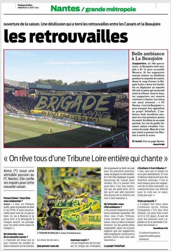 2018 Ligue 1 J01 NANTES MONACO 1-3, le 11/08/2018