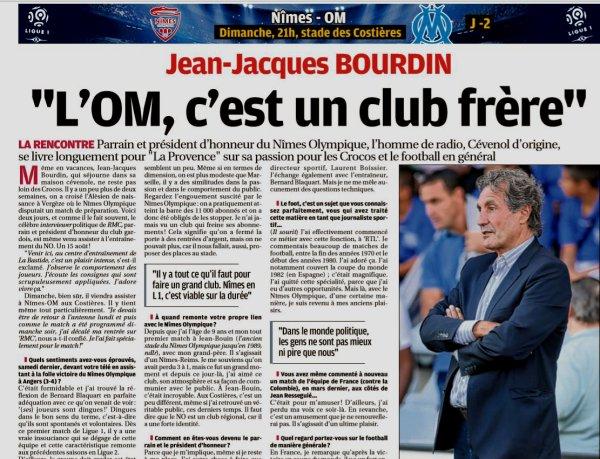 2018 Ligue 1 J02 NÎMES MARSEILLE, l'avant match, le 18/08/2018