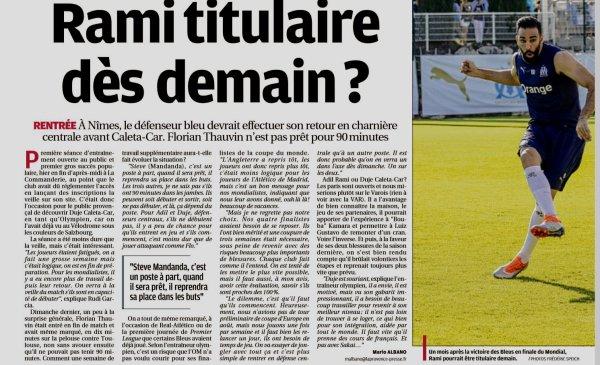 2018 Ligue 1 J02 NÎMES MARSEILLE, l'avant match suite, le 19/08/2018