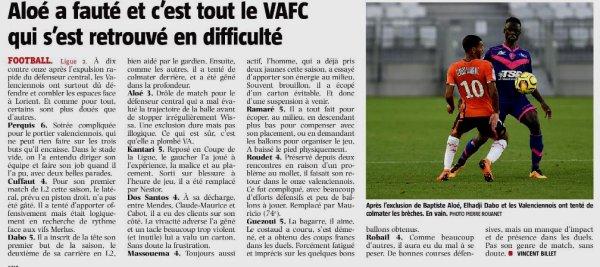 2018 Ligue 2 J04 LORIENT VALENCIENNES 3-1, le 17/08/2018