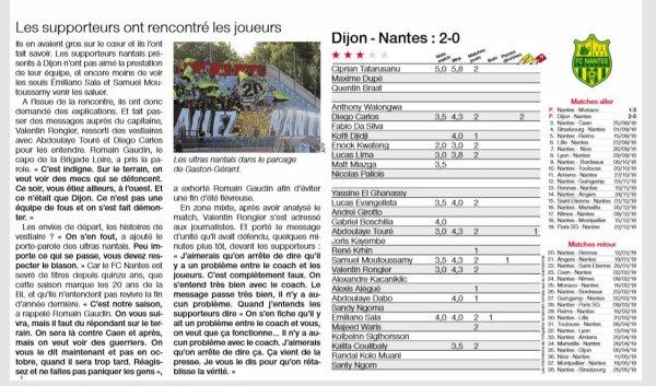 2018 Ligue 1 J02 DIJON NANTES 2-0, le 18/08/2018