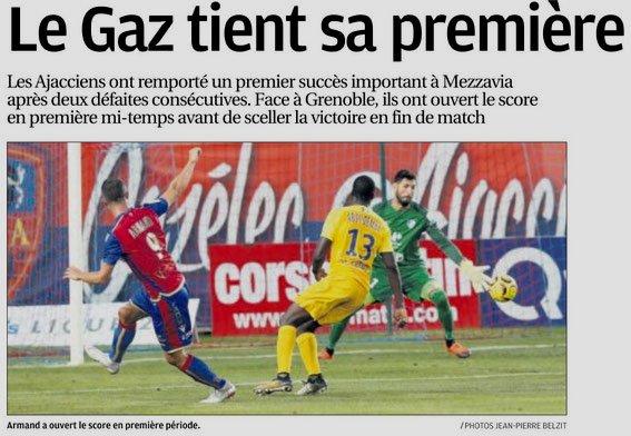 2018 Ligue 2 J04 GAZELEC GRENOBLE 2-0, le 17/08/2018