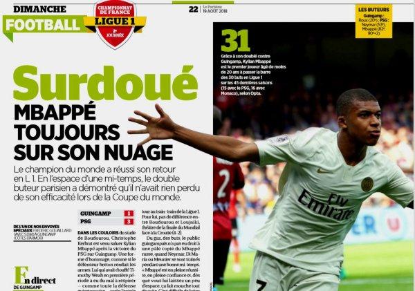 2018 Ligue 1 J02 GUINGAMP PSG 1-3, le 18/08/2018
