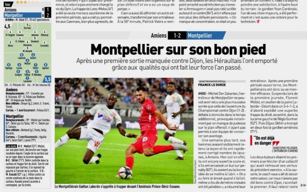 2018 Ligue 1 J02 AMIENS MONTPELLIER 1-2, le 18/08/2018