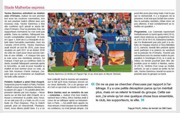 2018 Ligue 1 J02 CAEN NICE 1-1, le 18/08/2018