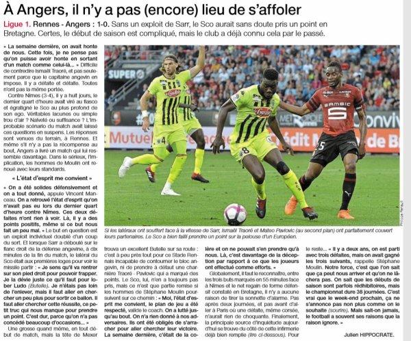 2018 Ligue 14 J02 RENNES ANGERS 1-0, le 18/08/2018
