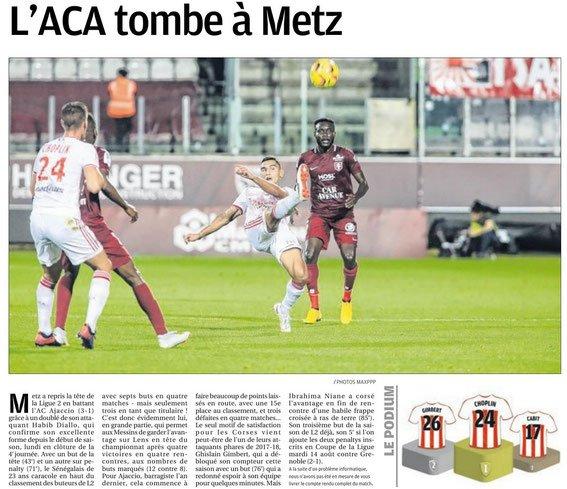 2018 Ligue 2 J04 METZ AJACCIO 3-1, le 20/08/2018
