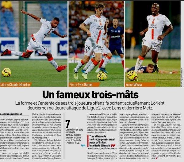 2018 Ligue 2 J05 AJACCIO LORIENT 0-0, le 24/08/2018