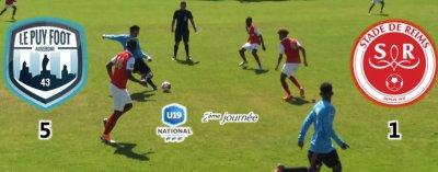2018 U19 Championnat national : la PHASE ALLER, le 02/12/2018