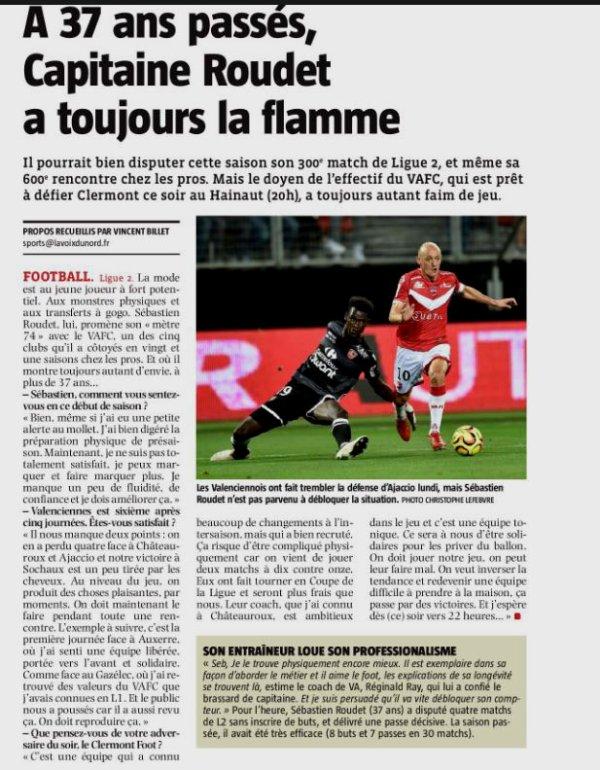 2018 Ligue 2 J06 VALENCIENNES CLERMONT 0-4, le 31/08/2018