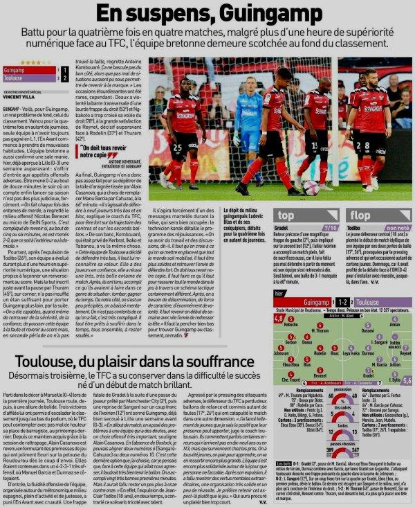 2018 Ligue 1 J04 GUINGAMP TOULOUSE 1-2, le 01/09/2018