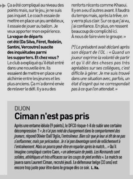 2018 Ligue 1 J04 DIJON CAEN 0-2, le 01/09/2018