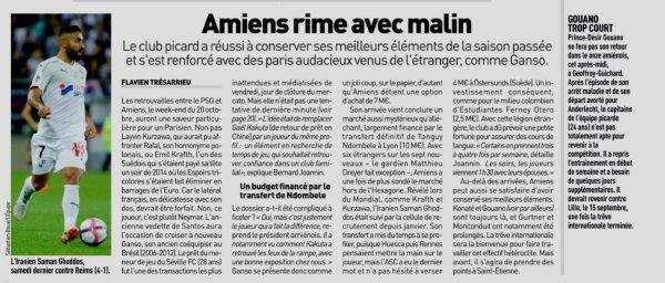 2018 Ligue 1 J04 SAINT-ETIENNE AMIENS 0-0 , le 02/09/2018