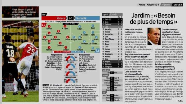 2018 Ligue 1 J04 MONACO MARSEILLE 2-3, le 02/09/2018