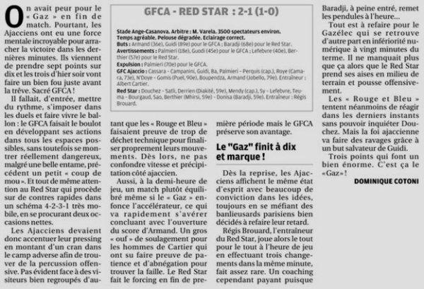 2018 Ligue 2 J06 GAZELEC RED STAR 2-1, le 31/08/2018