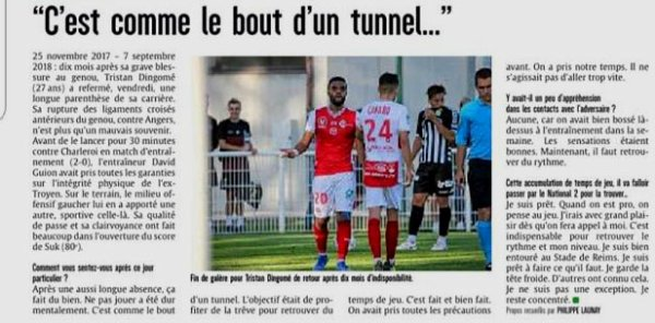2018 AMICAL REIMS CHARLEROI 2-0, le 07/09/2018