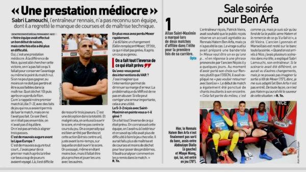 2018 Ligue 1 J05 NICE RENNES 2-1 , le 14/09/2018