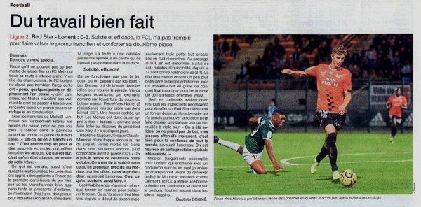 2018 Ligue 2 J07 RED STAR LORIENT 0-3, le 14/09/2018