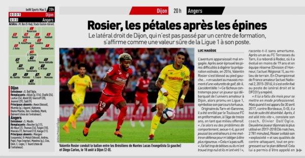 2018 Ligue 1 J05 DIJON ANGERS 1-3 , le 15/09/2018