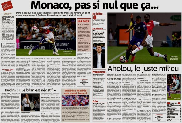 2018 Ligue 1 J05 TOULOUSE MONACO 1-1, le 15/09/2018