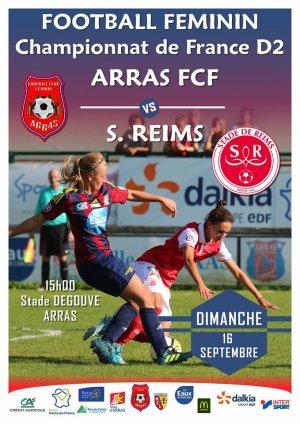 2018 D2 Féminines J03 ARRAS REIMS 1-1, le 16/092018