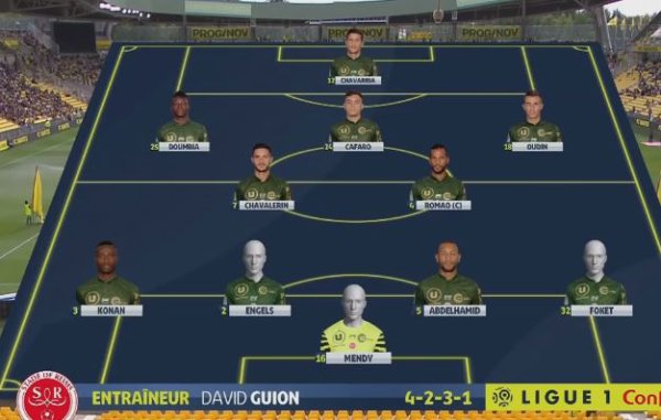 2018 Ligue 1 J05 NANTES REIMS 0-0, le live, le 16/09/2018