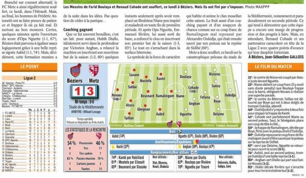 2018 Ligue 2 J07 METZ BEZIERS 1-3, le 17/09/2018