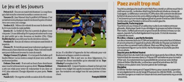 2018 Ligue 2 J08 SOCHAUX ORLEANS 0-1, le 21/08/2018