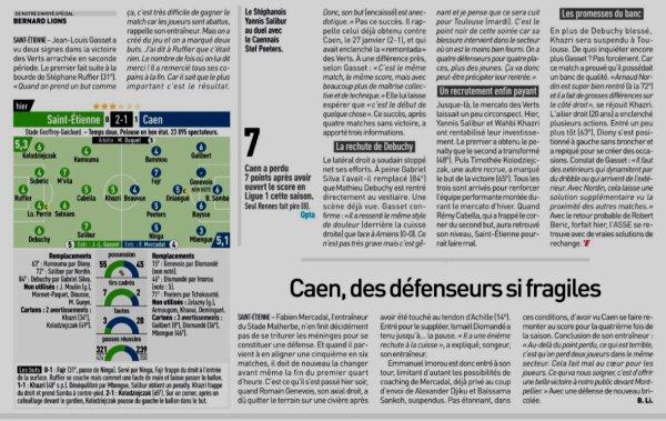 2018 Ligue 1 J06 SAINT-ETIENNE CAEN 2-1, le 22/09/2018