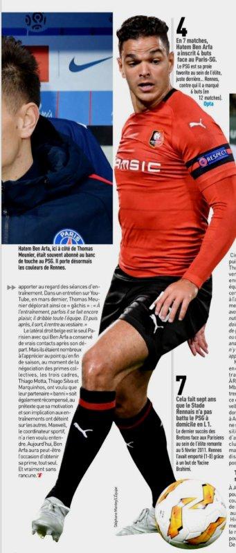 2018 Ligue 1 J06 RENNES PSG 1-3, le 23/09/2018