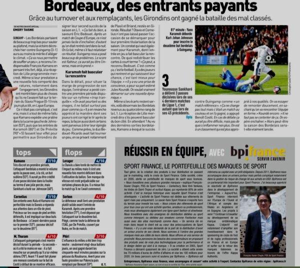 2018 Ligue 1 J06 GUINGAMP BORDEAUX 1-3, le 23/09/2018