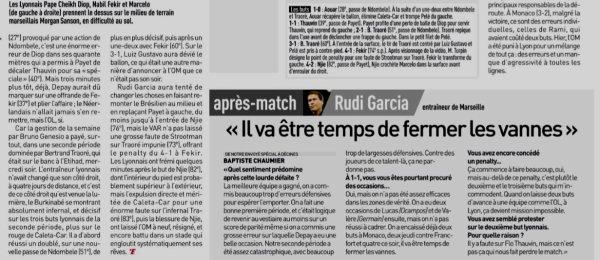 2018 Ligue 1 J06 LYON MARSEILLE 4-2, le 23/09/2018