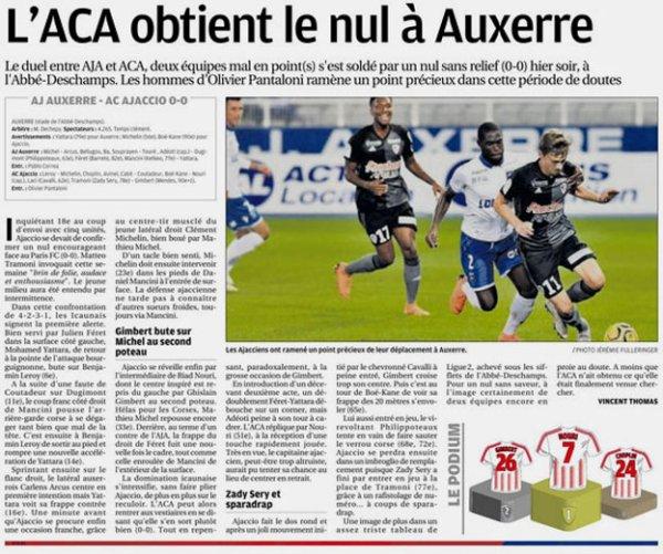 2018 Ligue 2 J08 AUXERRE AJACCIO 0-0, le 21/09/2018