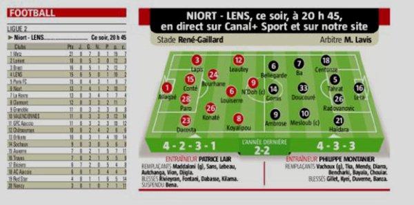 2018 Ligue 2 J08 NIORT LENS 1-2, le 24/09/2018