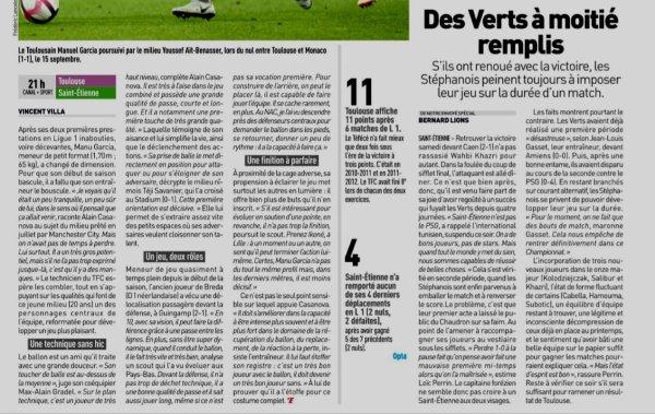 2018 Ligue 1 J07 TOULOUSE SAINT-ETIENNE 2-3, le 25/09/2018