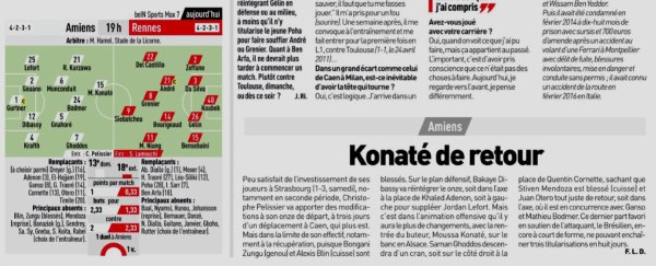 2018 Ligue 1 J07 AMIENS RENNES 2-1, le 26/09/2018