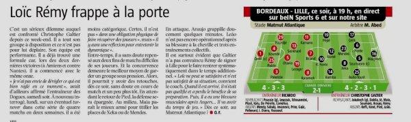 2018 Ligue 1 J07 BORDEAUX LILLE 1-0 , le 26/09/2018
