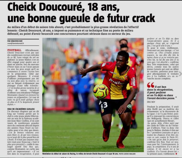 2018 Ligue 2 J09 LENS PARIS FC 0-0, le 28/09/2018