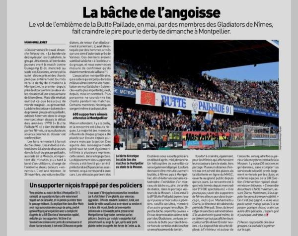 2018 Ligue 1 J08 MONTPELLIER NÎMES , l'avant match, le 30/09/2018