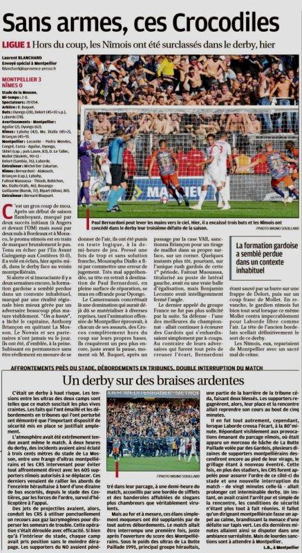 2018 Ligue 1 J08 MONTPELLIER NÎMES 3-0, le 30/09/2018