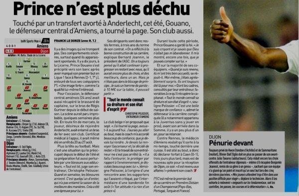2018 Ligue 1 J09 AMIENS DIJON 1-0 , le 06/10/2018