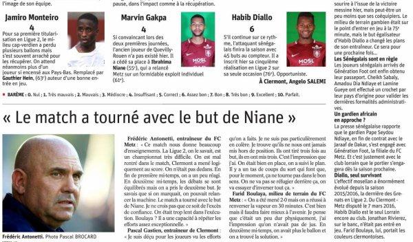 2018 Ligue 2 J10 SOCHAUX METZ 1-2, le 08/10/2018