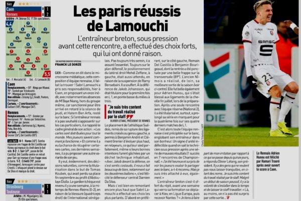 2018 Ligue 1 J12 CAEN RENNES 1-2, le 03/11/2018