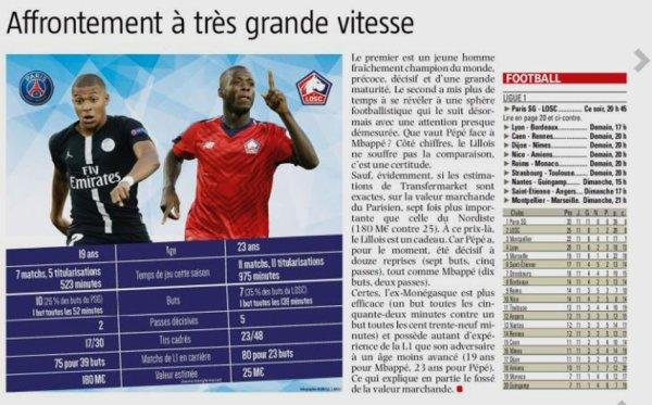2018 Ligue 1 J12 PSG LILLE 2-1, le 02/11/2018