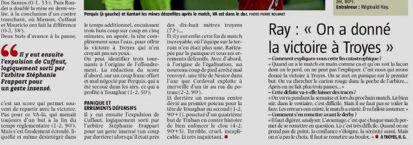 2018 Ligue 2 J13 TROYES VALENCIENNES 4-2, le 03/11/2018