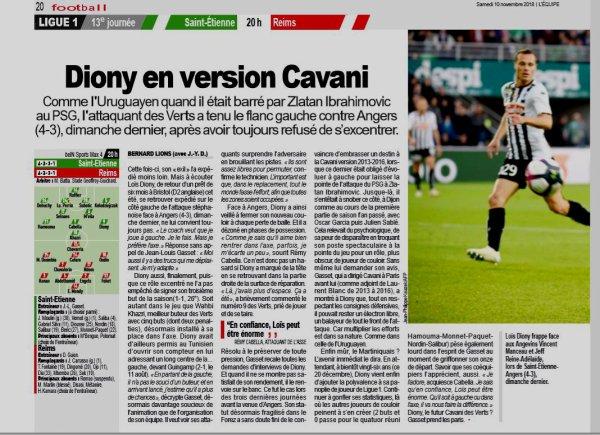 2018 Ligue 1 J13 SAINT-ETIENNE REIMS, l'avant match, le 10/11/2018