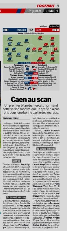 2018 Ligue 1 J13 BORDEAUX CAEN 0-0, le 11/11/2018