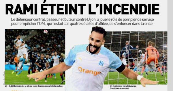 2018 Ligue 1 J13 MARSEILLE DIJON 2-0, le 11/11/2018